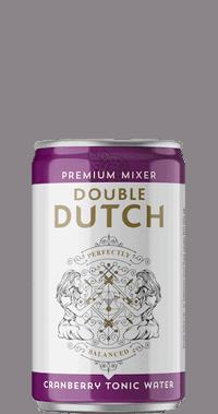 Double Dutch Cranberry & Ginger Tonic - 24 x 150ml