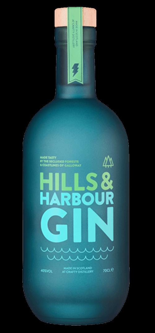 Crafty Distillery Hills & Harbour Gin