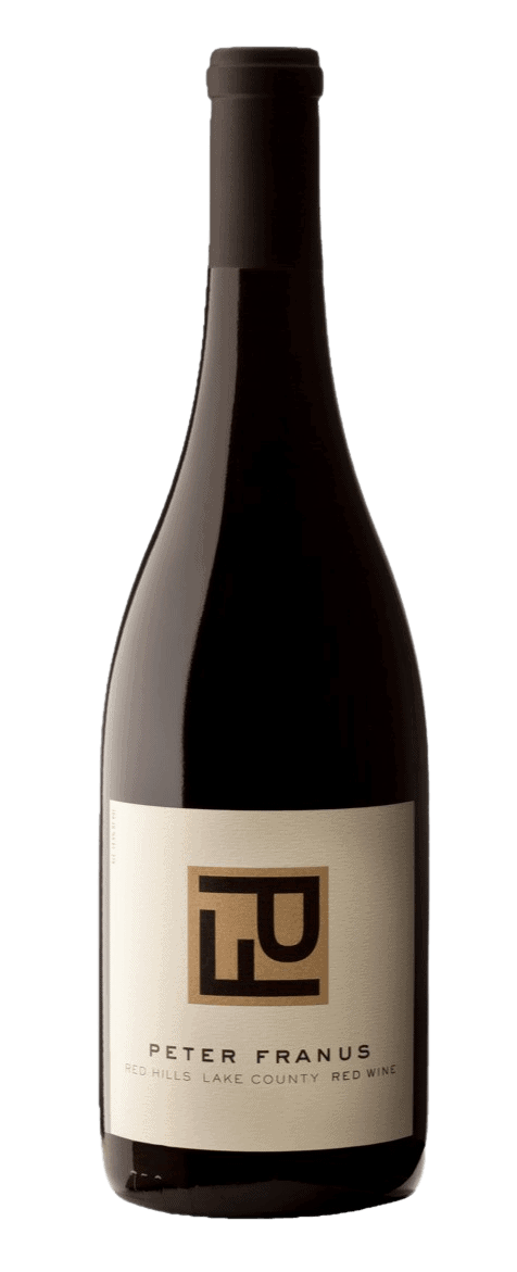 Peter Franus Wine Red Hills Lake County Red