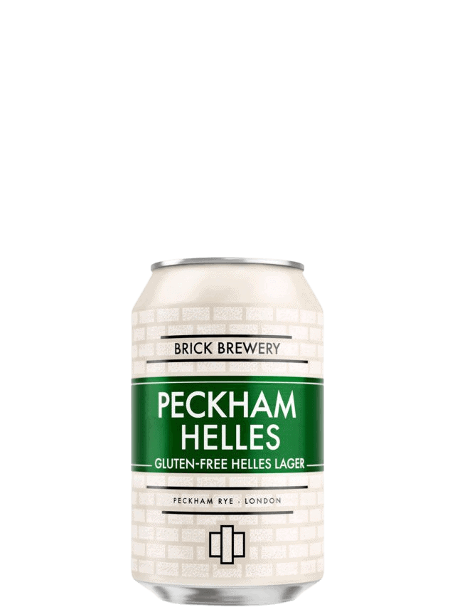 Brick Brewery Peckham Helles - 24 x 330ml