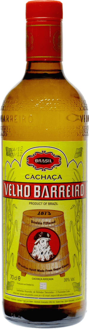 "Velho Barreiro Cachaça ""Yellow Label"""
