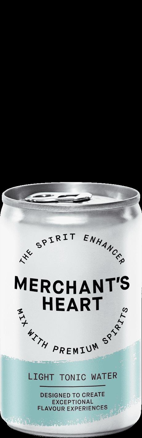 Merchant's Heart Light Tonic Water 24x150ml