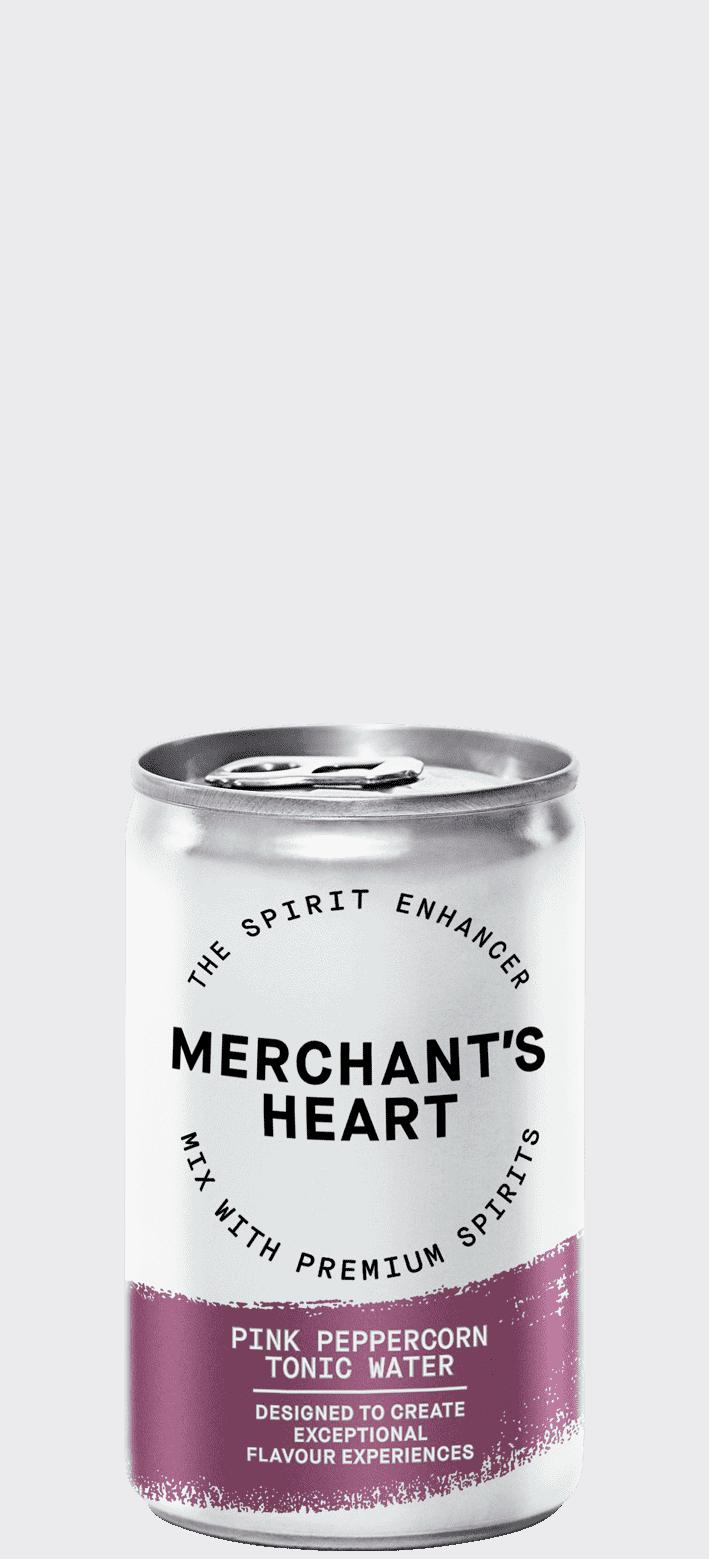 Merchant's Heart Pink Peppercorn Tonic Water 24x150ml