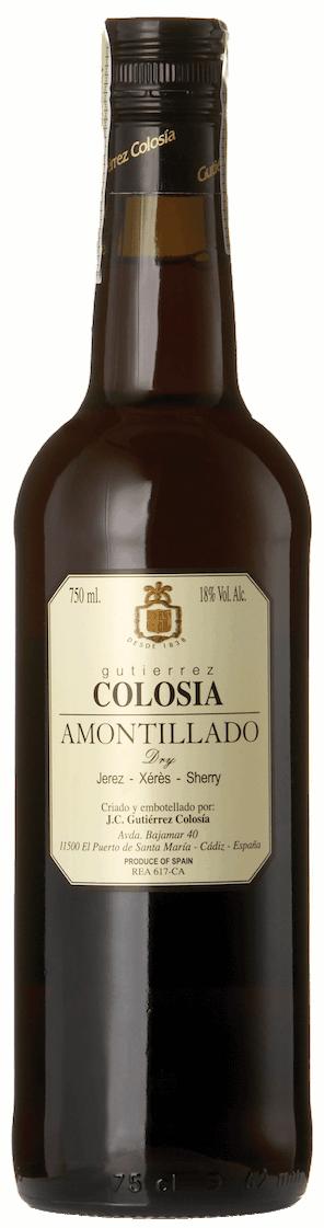 Bodegas Gutiérrez Colosia Amontillado