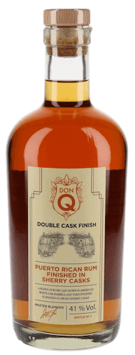 Don Q Double Wood Rum Sherry Wood Finish