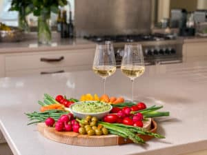 wine and food picture